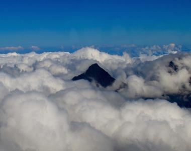 Les cirques de La Réunion vue du ciel