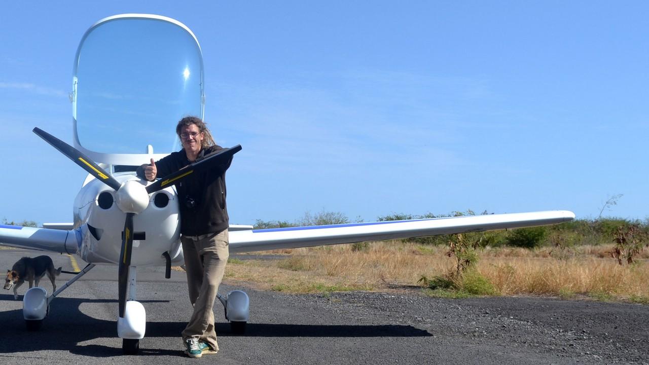 Julien, pilote instructeur ULM 3 axes