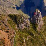 Le piton Maïdo L'île de La Réunion vue du ciel par Fly Réunion